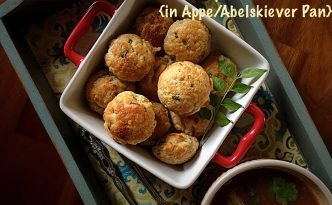 Mysore Bonda in Appe / Abelskiever Pan