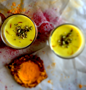 Thandai Pudding
