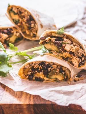 Vegan Breakfast Burrito