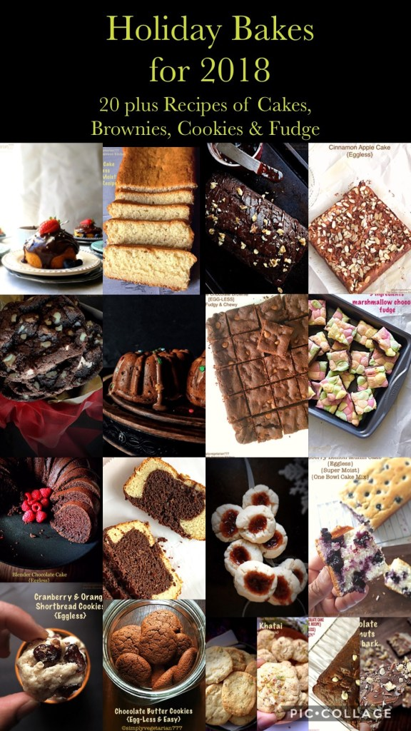 Holiday Bakes Collection 2018