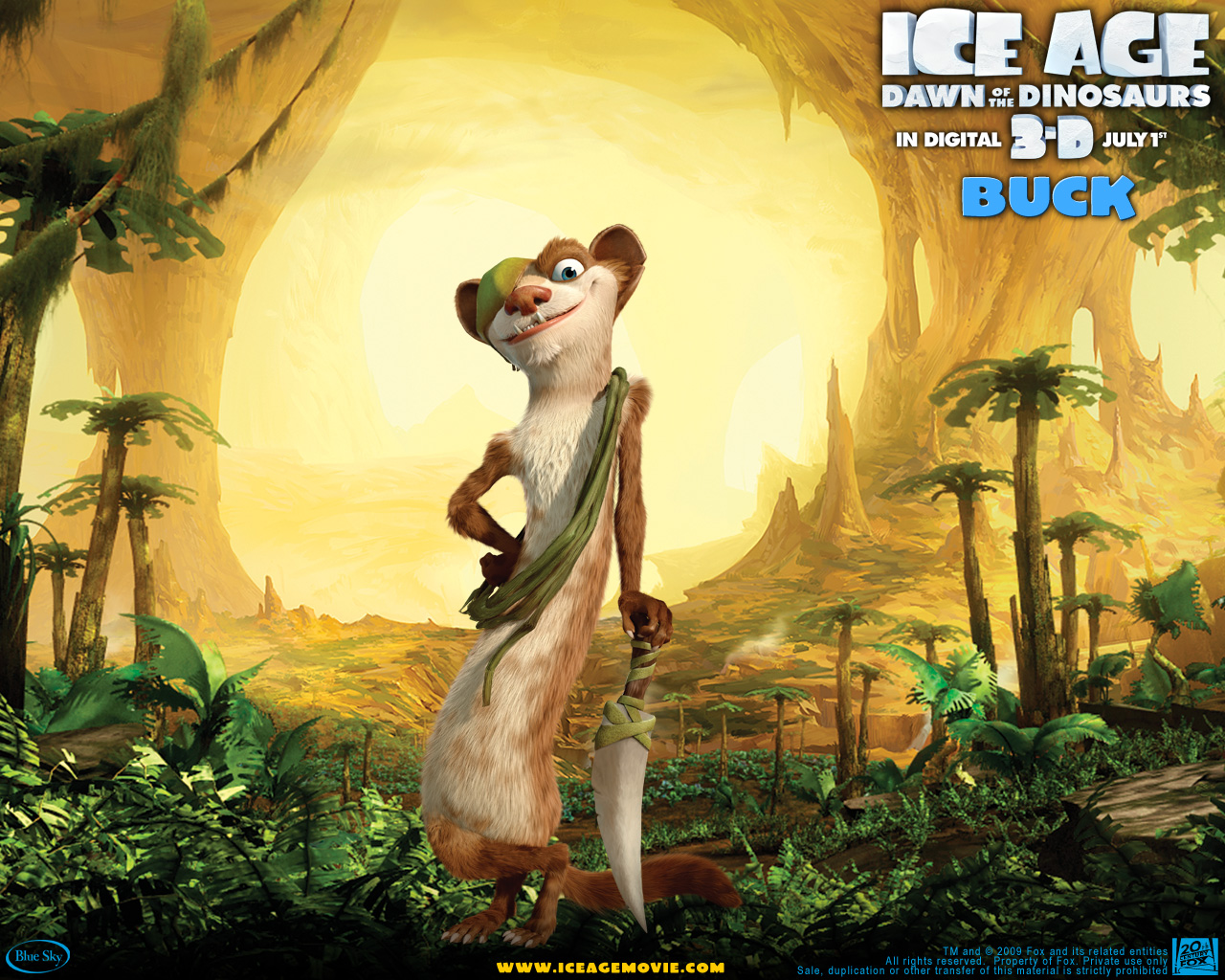Until Dawn Iphone Wallpaper Buck The Weasel From Ice Age 3 Desktop Wallpaper