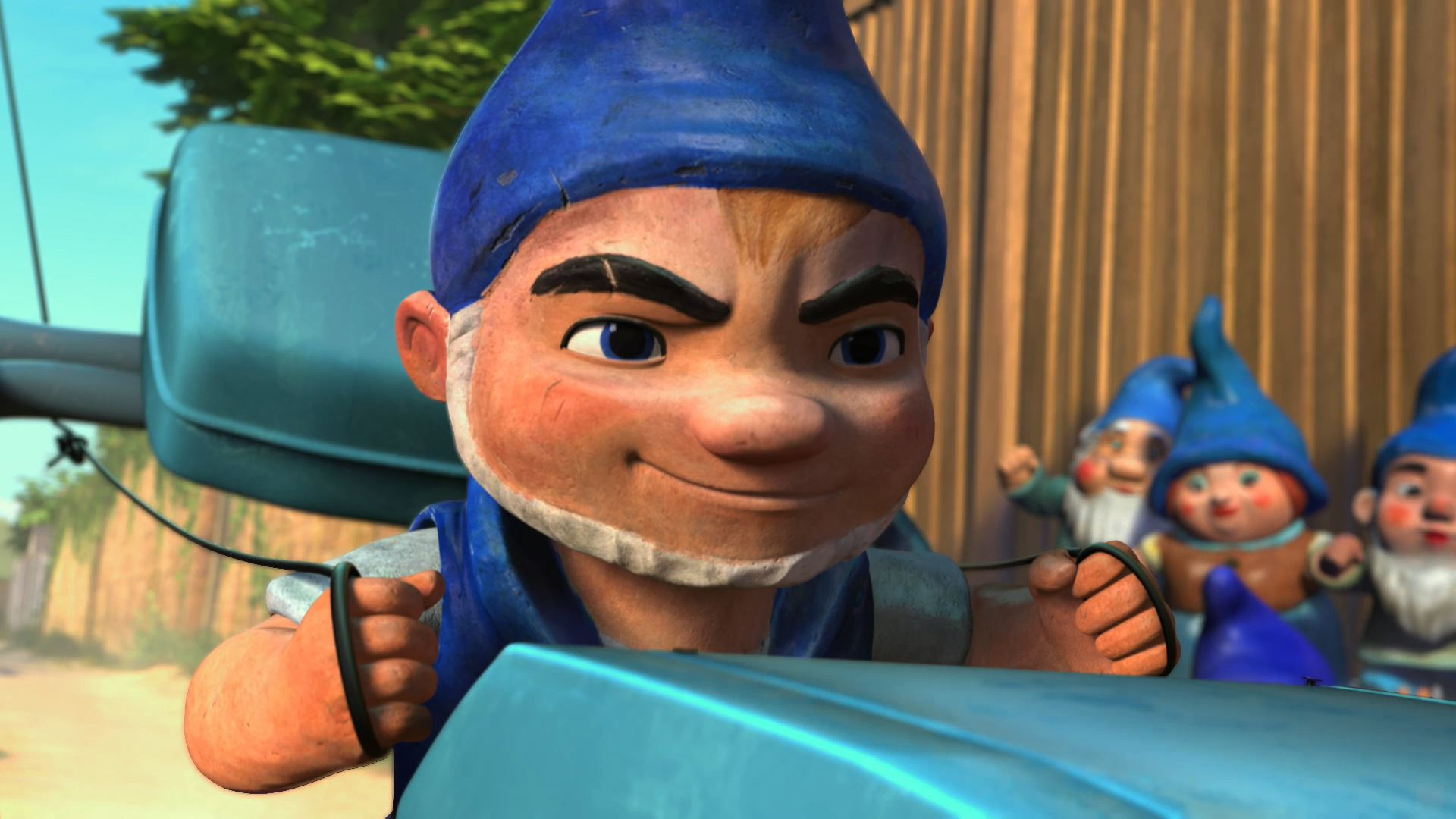 Gnomeo Lawn Mower Racer From Gnomeo And Juliet Desktop