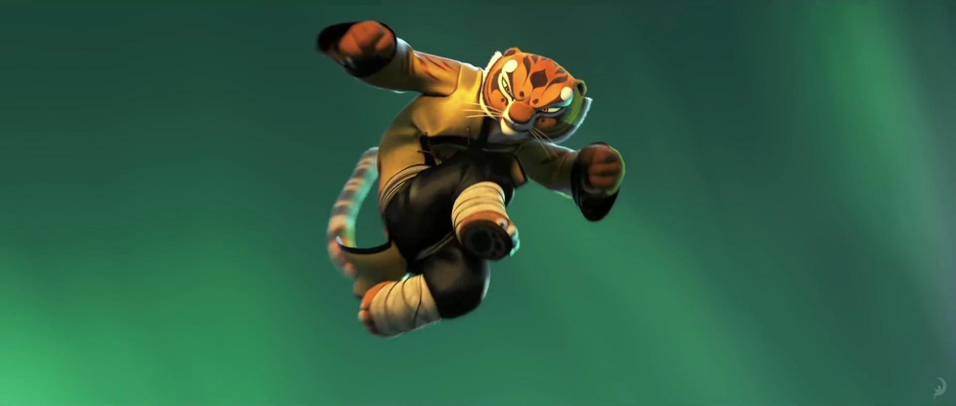 tigress from kung fu