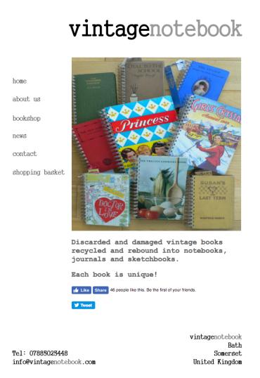 vintagenotebook.com