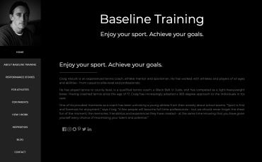 Baseline Training