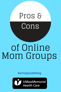 pros and cons of mom groups