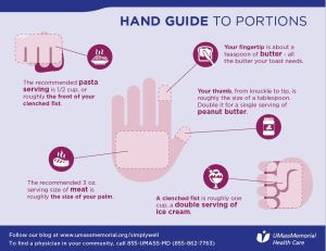 hand guide to portions