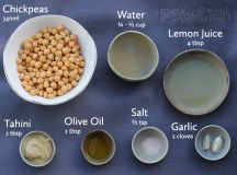 How to Make Blender Hummus in 4 Easy Steps | Simply Whole ...