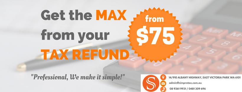 Tax refund date in Perth