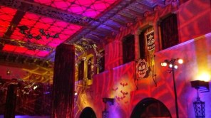 Decorations above the casino floor