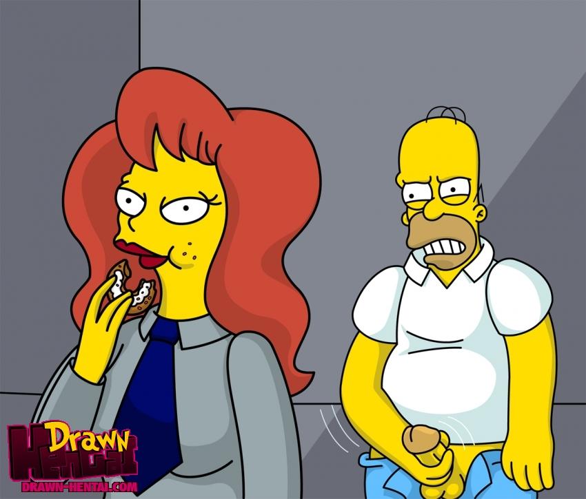 Nackt simpson Marge Simpson