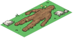 Tapped Out Suspicious Dirt Pile.png