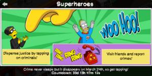 TSTO Superheroes Help panel.png