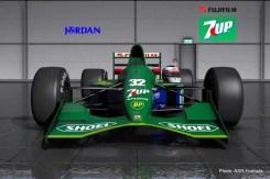 Jordan 191 rfact 2 mod schumacher f1 car-001