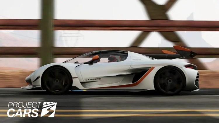 Project CARS 3 Koenigsegg Jesko