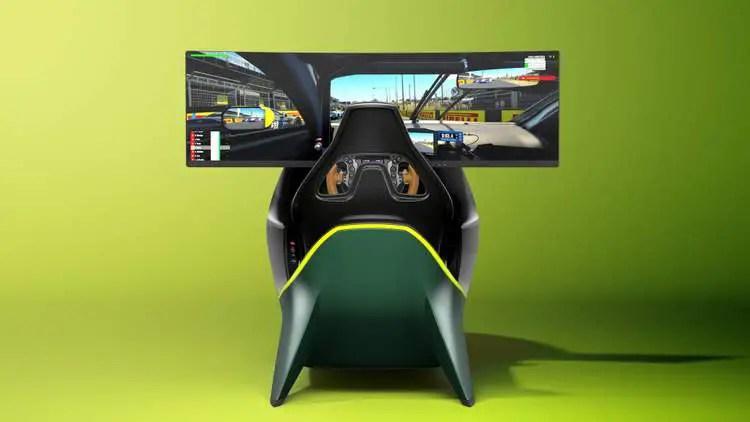 Aston Martin Release 70k Sim Racing Rig Simrace247