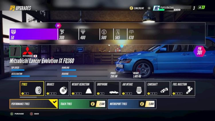 Project CARS 3 Tyre Upgrades