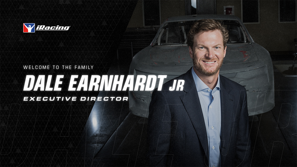 iRacing: Dale Earnhardt Jr. joins  as Executive Director