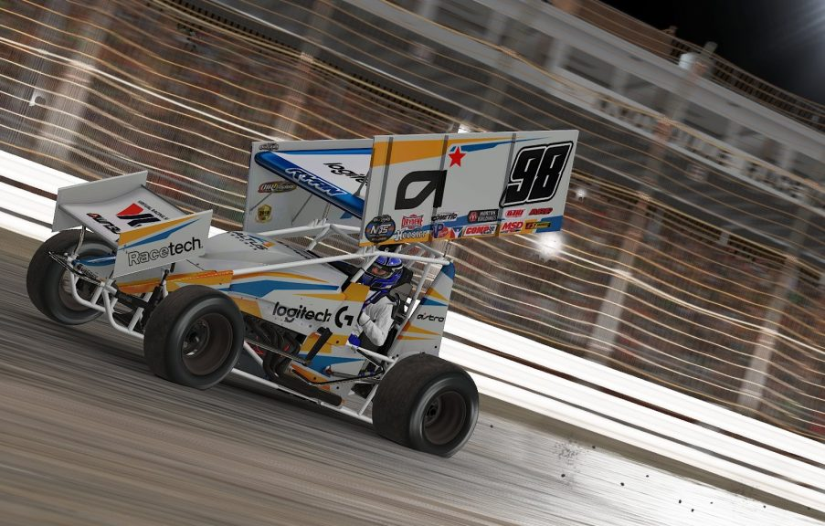Ryan Returns to iRacing World of Outlaws Winner's Circle at Knoxville – iRacing.com | iRacing.com Motorsport Simulations