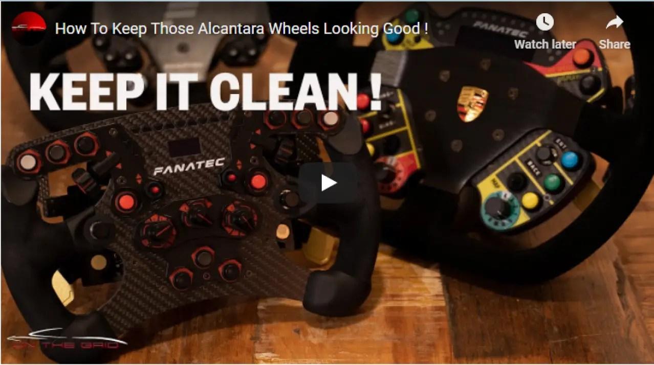 On The Grid: How To Maintain Those Alcantara Wheels