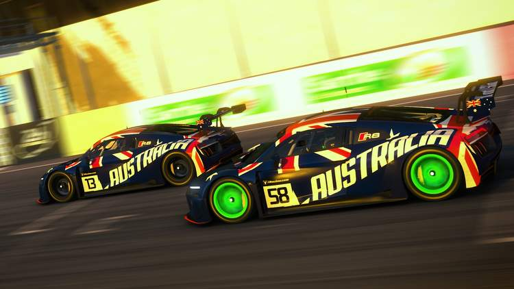 VCO Cup of Nations Pro winners australian simracing