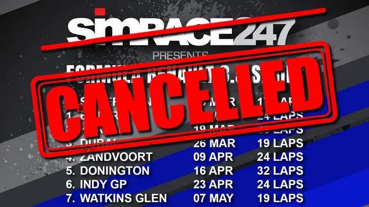 CANCELLED: SIMRACE247 Formula Renault 3.5 series