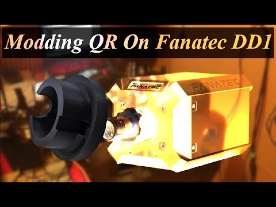 Fanatec DD1 Quick Release Mod