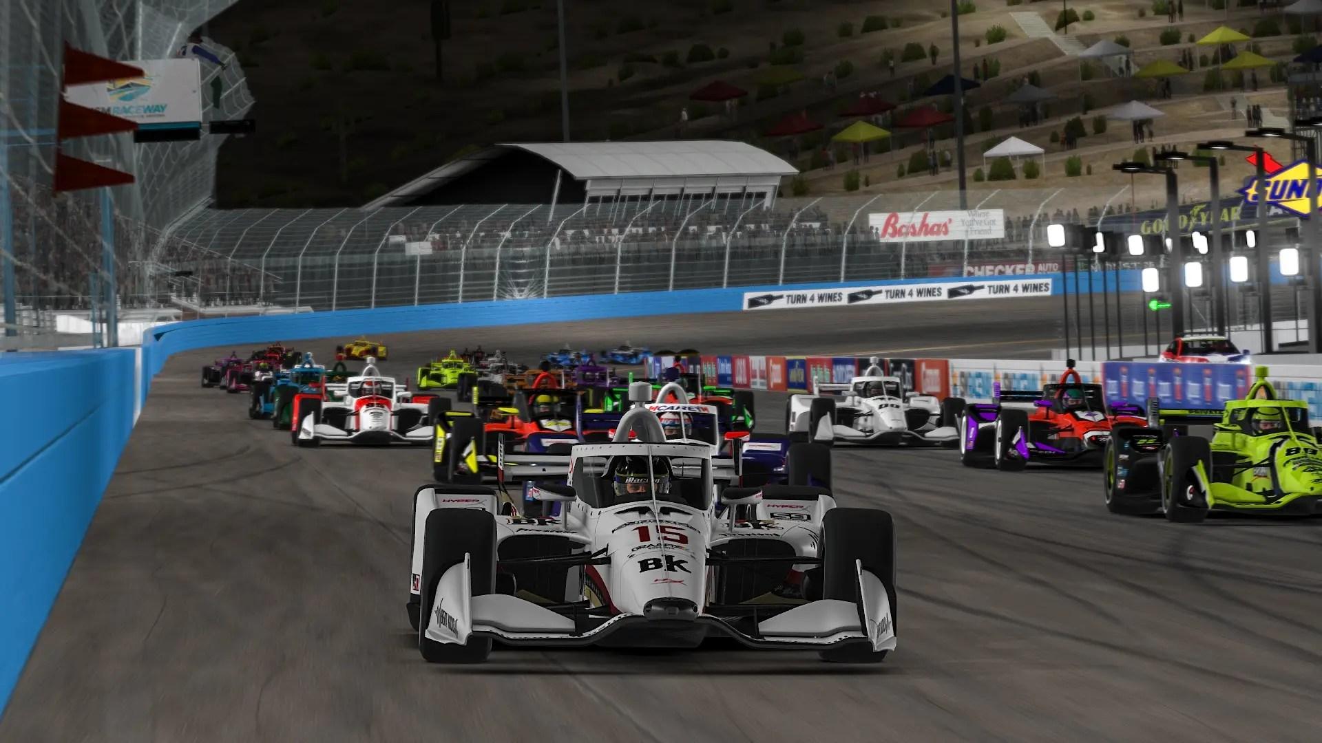 iRacing Lionheart Indycar series Watkins Glen eflyer