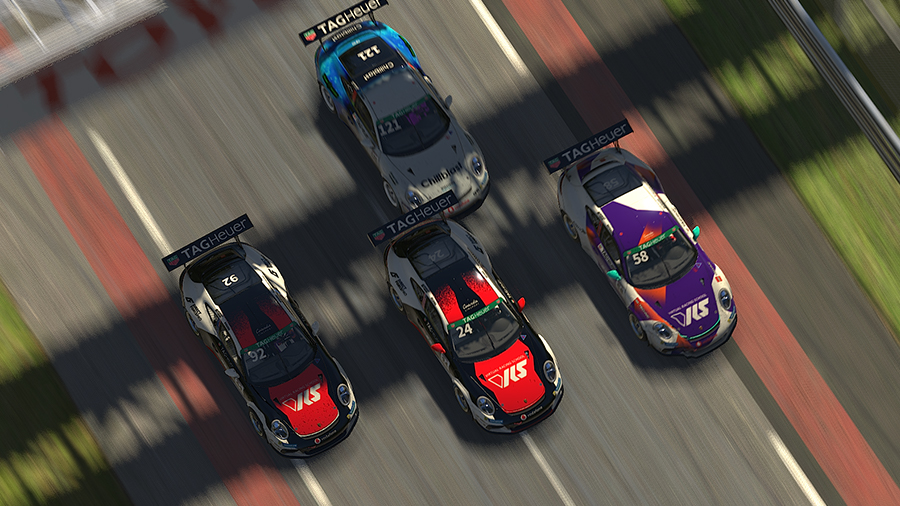 iRacing Porsche Supercup Le Mans: Rogers back on top