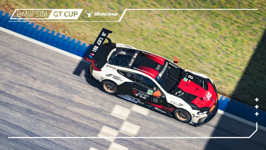 iRacing BMW GT Cup: Rogers and deJong dominate Road Atlanta