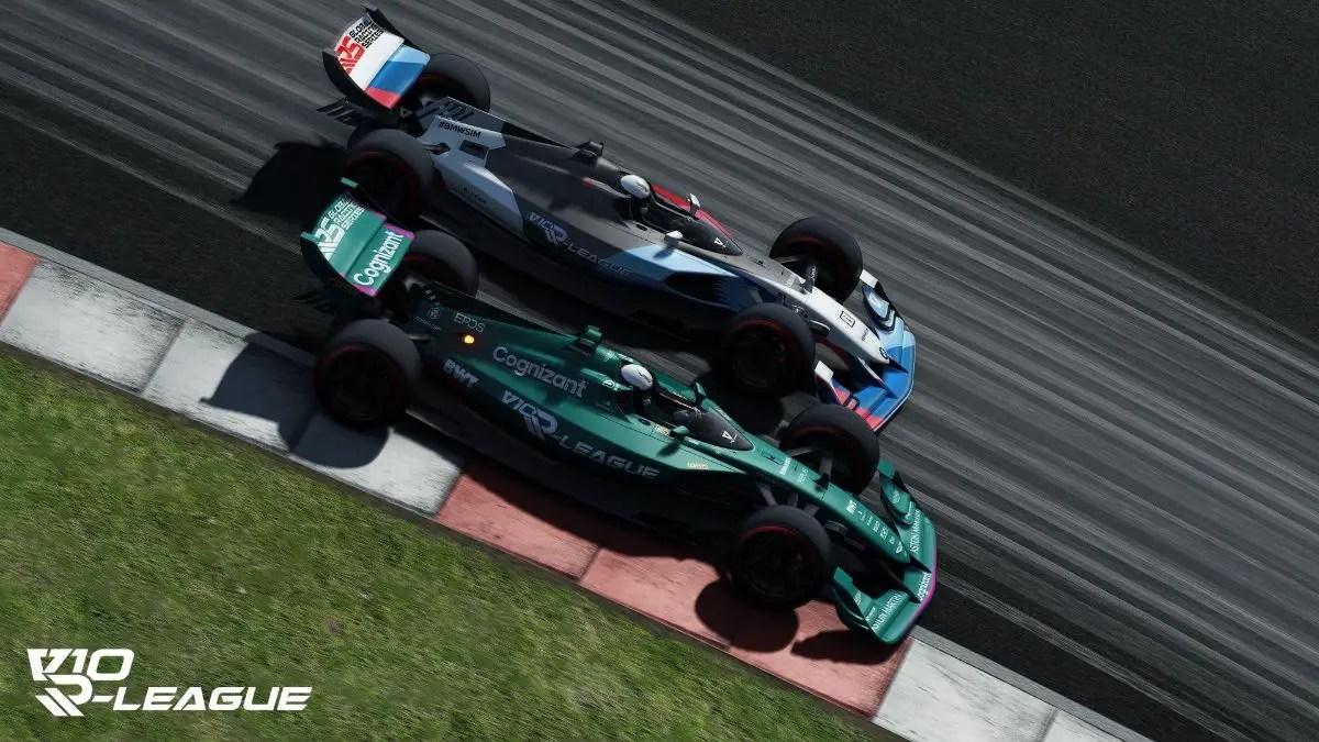 Aston Martin Esports: Unlucky in V10-R League final