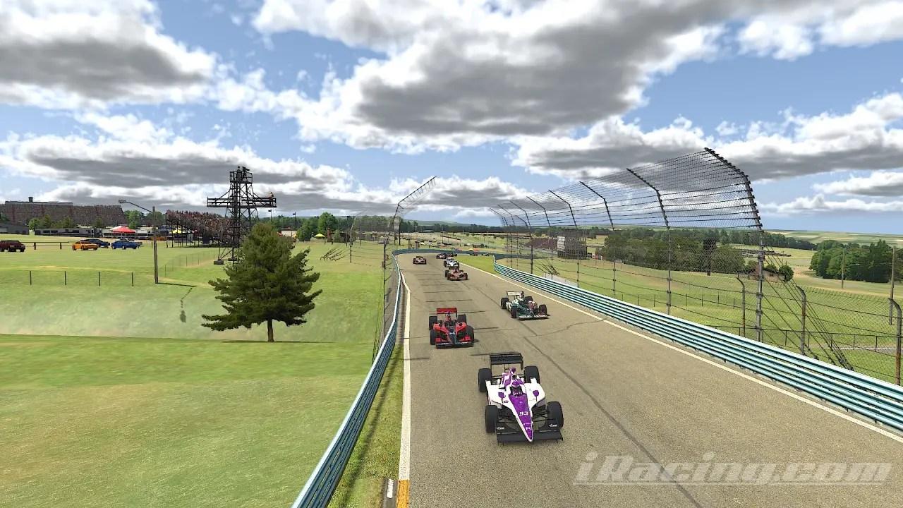 Classic IndyCar Series Iracing Round 5 Watkins Glen Race Report