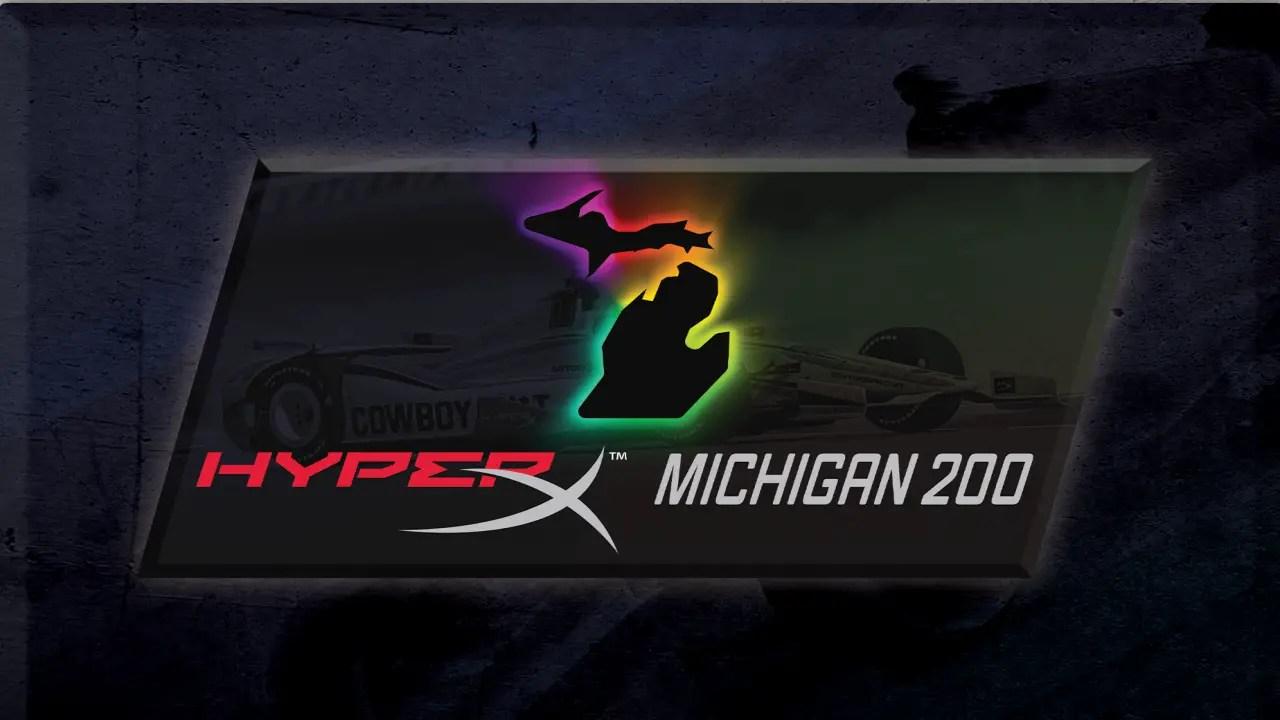iRacing Lionheart Speedway Series Round 8 Michigan 14/06/21
