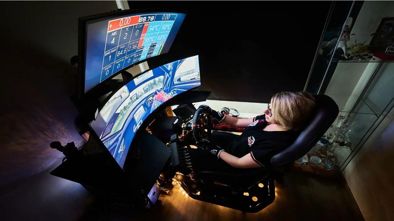 Women In Sim Racing Continues Yvonne Van Den Berg Weekly Blog #21