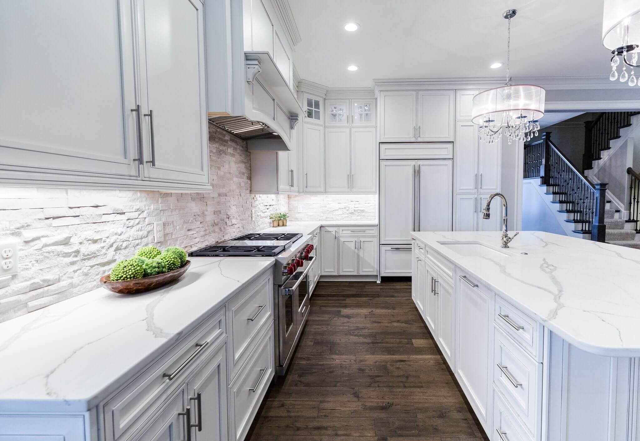 West Side Home Showcase  SimsLohman Fine Kitchens and