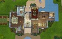 Sims Freeplay Mansion Floor Plan