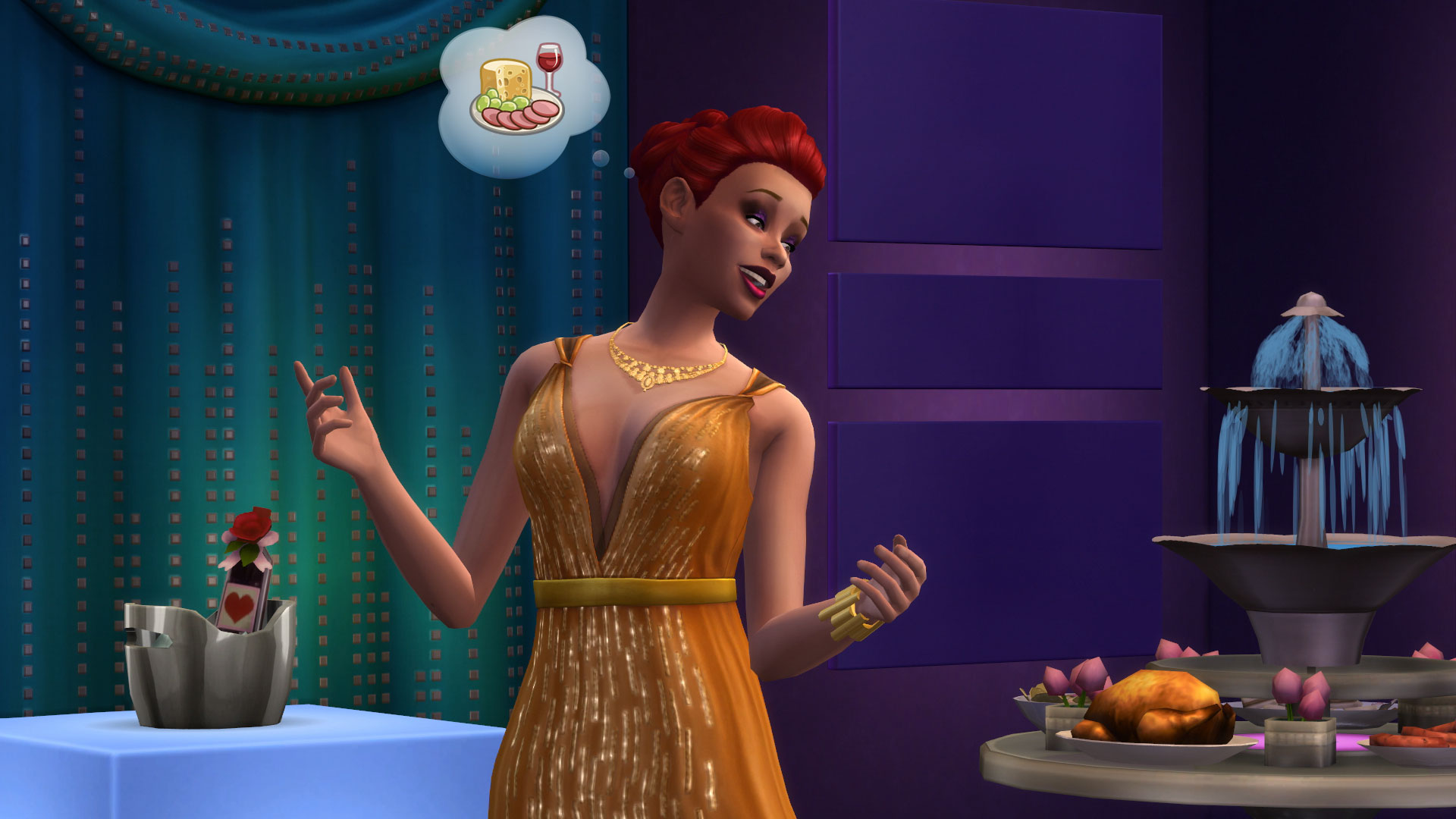 New Screenshots Revealed From The Sims 4 Luxury Stuff Pack
