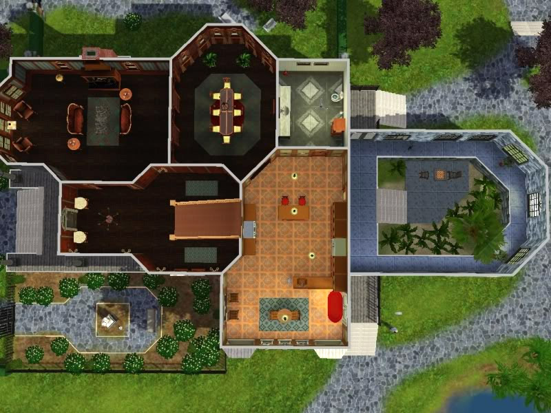 The Sims 4 Building Challenge Goths Manor  Sims Online