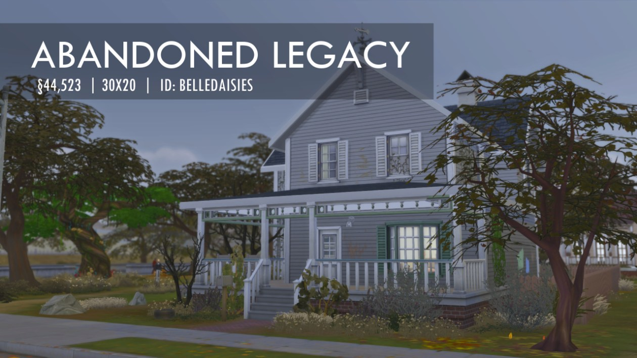 Abandoned Legacy in Foundry Cove