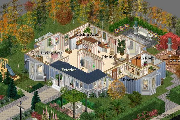 Sims 1 House Ideas House Interior