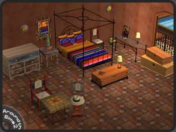 Around the Sims 2  Objects  Bedroom  Mexico