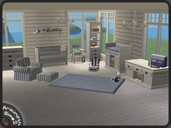 Around the Sims 2  Objects  Nursey  Beach House