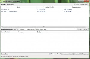 The Sims 3 Patch Downloader (1/6)