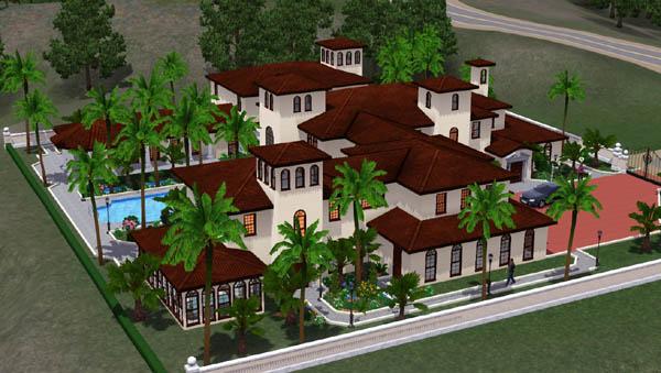 Sims 3 Maison De Jupiter Island Architecture Maison