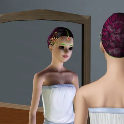 The Sims 3 Hair Flower Crown | Gardening: Flower and Vegetables