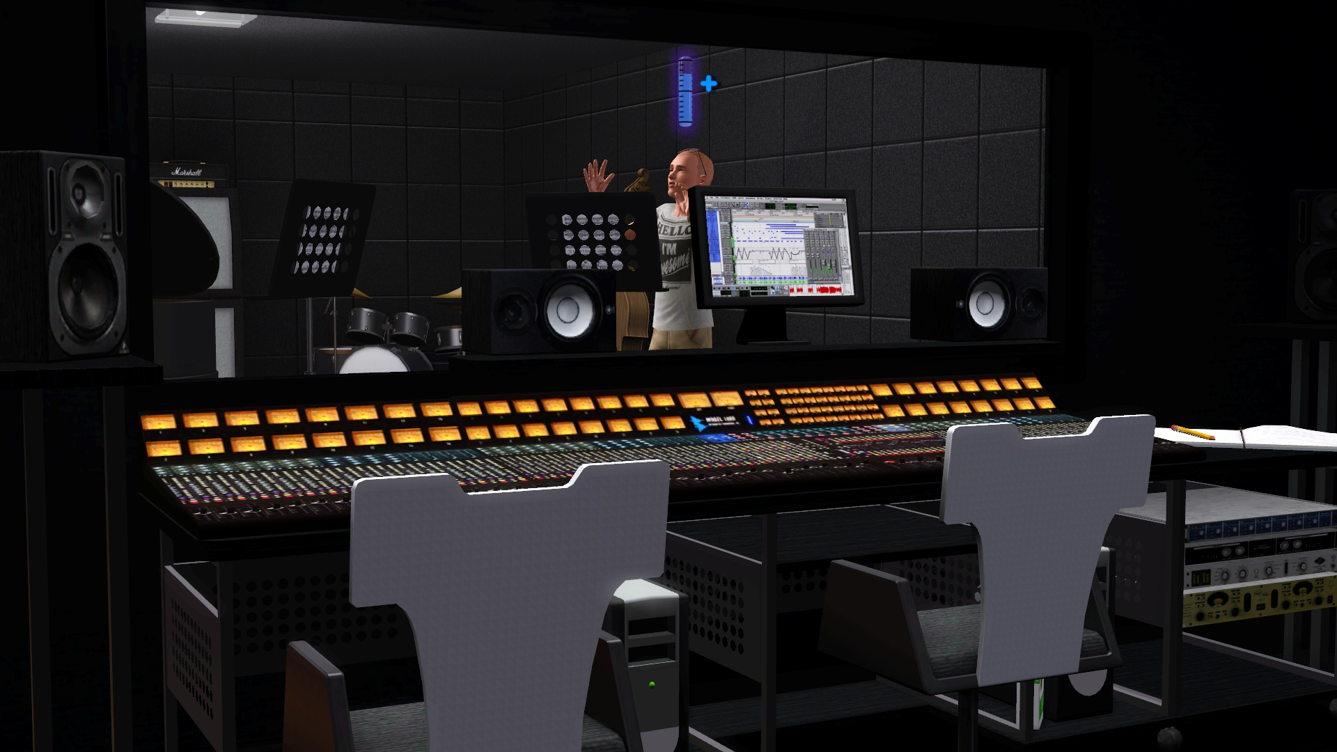 Book your studio time  Sims 3 Style