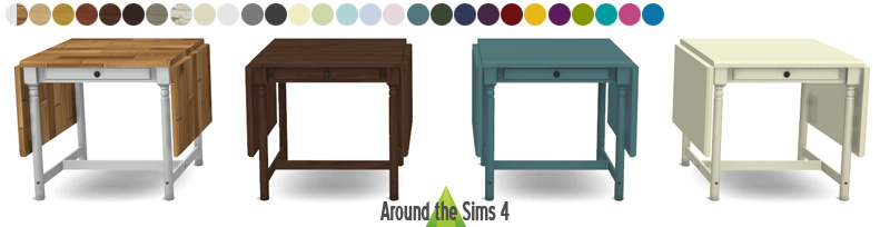 ikea foldable chair table