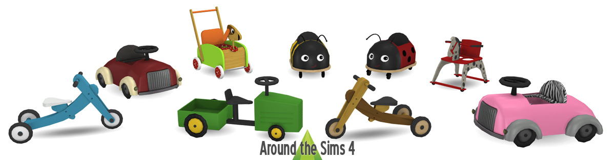Around The Sims 4 Custom Content Download Toddler Walkers