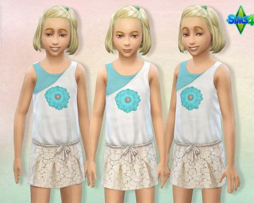 Child Summer Outfit 01 by lillka at The