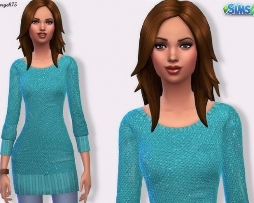 Sequin Jumper by Margeh75 at Sims